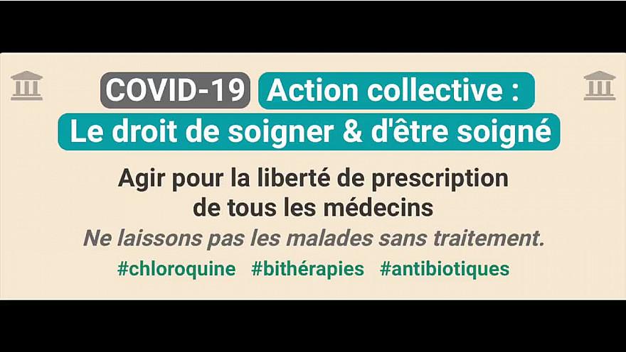 COVID-19 :  Action Collective 'Le Droit de soigner et d'Etre Soigné' - Maître S.Manna #Covid19 #Chloroquine @MySMARTcab @CLeguevaques31 @silvano_trotta #bithérapies   #antibiotiques